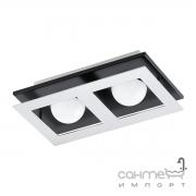 Светильник точечный Eglo Bellamonte 94231 хай-тек, модерн, пластик, сталь, хром, черный, матовый, алюминий
