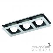 Светильник точечный Eglo Bellamonte 94232 хай-тек, модерн, пластик, сталь, хром, черный, матовый, алюминий