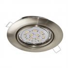 Светильник точечный Eglo Peneto 94242 хай-тек, модерн, сталь, сатиновый никель