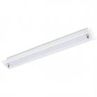 Светильник настенно-потолочный Eglo Priola 94452 хай-тек, модерн, сталь, стекло структурное, хром, белый