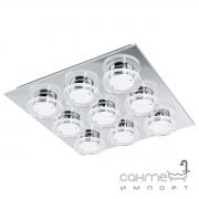 Светильник точечный Eglo Cisterno 94487 хай-тек, модерн, нержавеющая сталь, пластик, хром, прозрачный, матовый