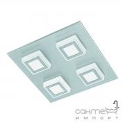 Светильник точечный Eglo Masiano 94508 хай-тек, модерн, алюминий, пластик, матовый алюминий