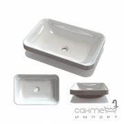 Врезная раковина Fancy Marble Aino 550x370 2905101 белый