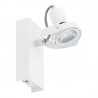 Светильник настенно-потолочный спот Eglo Novorio 1 94646 хай-тек, модерн, сталь, алюминий, белый