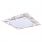 Светильник настенно-потолочный Eglo Pancento 1 94747 хай-тек, модерн, сталь, матовое стекло, белый, серый, медный