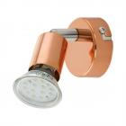 Светильник настенно-потолочный спот Eglo Buzz-Copper 94772 хай-тек, модерн, сталь, медный