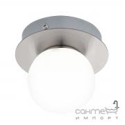 Светильник точечный Eglo Mosiano 95009 хай-тек, модерн, нержавеющая сталь, стекло опал-мат, сатиновый никель, белый