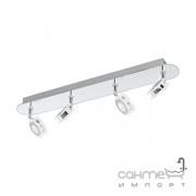 Светильник настенно-потолочный спот Eglo Agueda 95281 хай-тек, модерн, сталь, стекло, хром, прозрачный