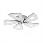 Люстра Eglo Amonde 95221 хай-тек, модерн, литой алюминий, пластик, сталь, сатиновый, хром