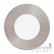 Светильник точечный Eglo Fueva 1 95465 хай-тек, модерн, литой металл, пластик, сатиновый никель, белый