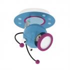 Светильник настенно-потолочный спот Eglo Laia 1 95941 хай-тек, модерн, сталь, разноцветный