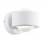 Светильник бра настенный Eglo Ono 2 96048 хай-тек, модерн, алюминий, пластик, белый, прозрачный
