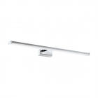 Светильник бра настенный Eglo Pandella 1 96065 хай-тек, модерн, алюминий, пластик, хром, серебристый, белый