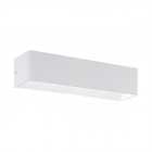 Светильник бра настенный Eglo Sania 3 96204 хай-тек, модерн, алюминий, белый