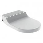 Крышка для унитаза с функцией биде Geberit AquaClean Tuma Comfort 146.274.FW.1 нержавеющая сталь, белый