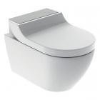 Подвесной унитаз с функцией биде Geberit AquaClean Tuma Comfort 146.294.FW.1 нержавеющая сталь, белый