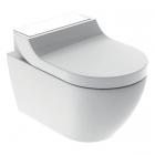 Подвесной унитаз с функцией биде Geberit AquaClean Tuma Comfort 146.294.SI.1 белое стекло