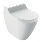 Напольный унитаз с функцией биде Geberit AquaClean Tuma Comfort 146.310.SI.1 белое стекло