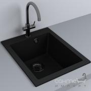 Кухонная мойка гранитная Fancy Marble Jersey 410 цвета в ассортименте