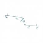 Светильник настенно-потолочный спот Eglo Salto 95633 хай-тек, модерн, сталь, пластик, хром, сатиновый