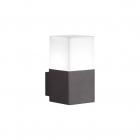 Светильник уличный настенный Trio HUDSON 220060142 Антрацит, Белый Пластик