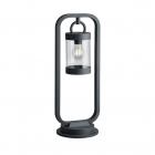 Парковый фонарь-столбик с датчиком освещения Trio SAMBESI 504160142 Антрацит
