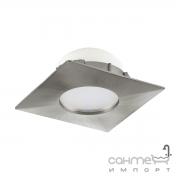 Светильник точечный Eglo Pineda 95799 хай-тек, модерн, пластик, сатиновый никель