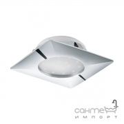 Светильник точечный Eglo Pineda 95862 хай-тек, модерн, пластик, хром