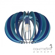 Люстра Eglo Fabella 95948 хай-тек, модерн, сталь, дерево, синий