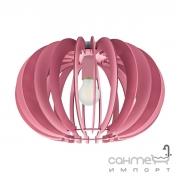 Люстра Eglo Fabella 95952 хай-тек, модерн, сталь, дерево, розовый