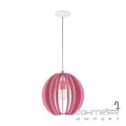 Люстра Eglo Fabella 95953 хай-тек, модерн, сталь, дерево, розовый, белый