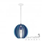 Люстра Eglo Fabella 95949 хай-тек, модерн, сталь, дерево, синий, белый