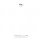 Люстра Eglo Sortino-S 95701 хай-тек, модерн, сталь, пластик, белый, сатиновый никель