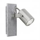 Светильник настенно-потолочный спот Eglo Praceta 95741 лофт, сталь, серый, матовый никель
