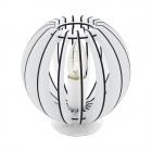 Настольная лампа Eglo Cossano 95794 сталь, дерево, белый