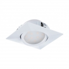 Светильник точечный Eglo Pineda 95841 хай-тек, модерн, пластик, белый