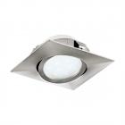Светильник точечный Eglo Pineda 95843 хай-тек, модерн, пластик, сатиновый никель