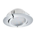 Светильник точечный Eglo Pineda 95848 хай-тек, модерн, пластик, хром