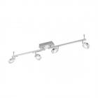 Светильник настенно-потолочный спот Eglo Cardillio 95999 хай-тек, модерн, алюминий, сталь, пластик, хром, сатиновый