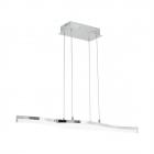 Люстра Eglo Lasana 2 96101 хай-тек, модерн, сталь, алюминий, пластик, хром, прозрачный