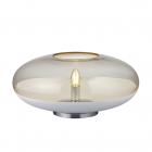 Настольная лампа Trio PORTO 508800131 Хром, Белое Матовое Стекло