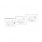 Набор точечных светильников (3шт.) Trio RILA 650210331 Белый
