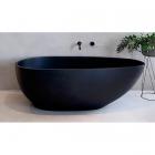 Ванна из литого камня iStone Olivia WD6585 black matte матовый черный камень