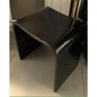 Табурет iStone Radian Pure Resine WD38388 черный глянцевый