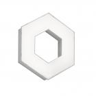 Светильник RGBW потолочного и настенного монтажа Trio SOLITAIRE 676310131 Белый Пластик