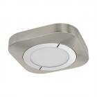Светильник настенно-потолочный Eglo Puyo 96392 хай-тек, модерн, сталь, пластик, ткань, матовый никель, хром, белый