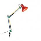 Настольная лампа с зажимом для крепления к столу Trio TAJO 5029010-17 Цветная