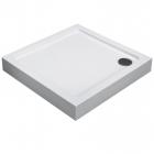 Квадратный душевой поддон Imprese TRS9090 белый