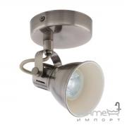 Светильник бра настенный Eglo Seras 96552 лофт, сталь, никель-античный, кремовый