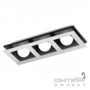 Светильник потолочный Eglo Bellamonte 1 96533 хай-тек, сталь, алюминий, хром, черный, алюминий, пластик, белый
